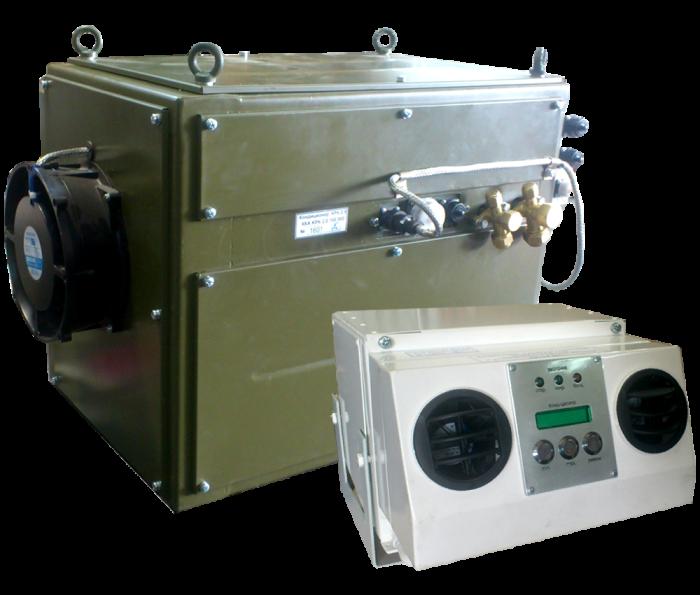 Кондиціонер КРК-2,0 для модернізації ЗРК «Куб»